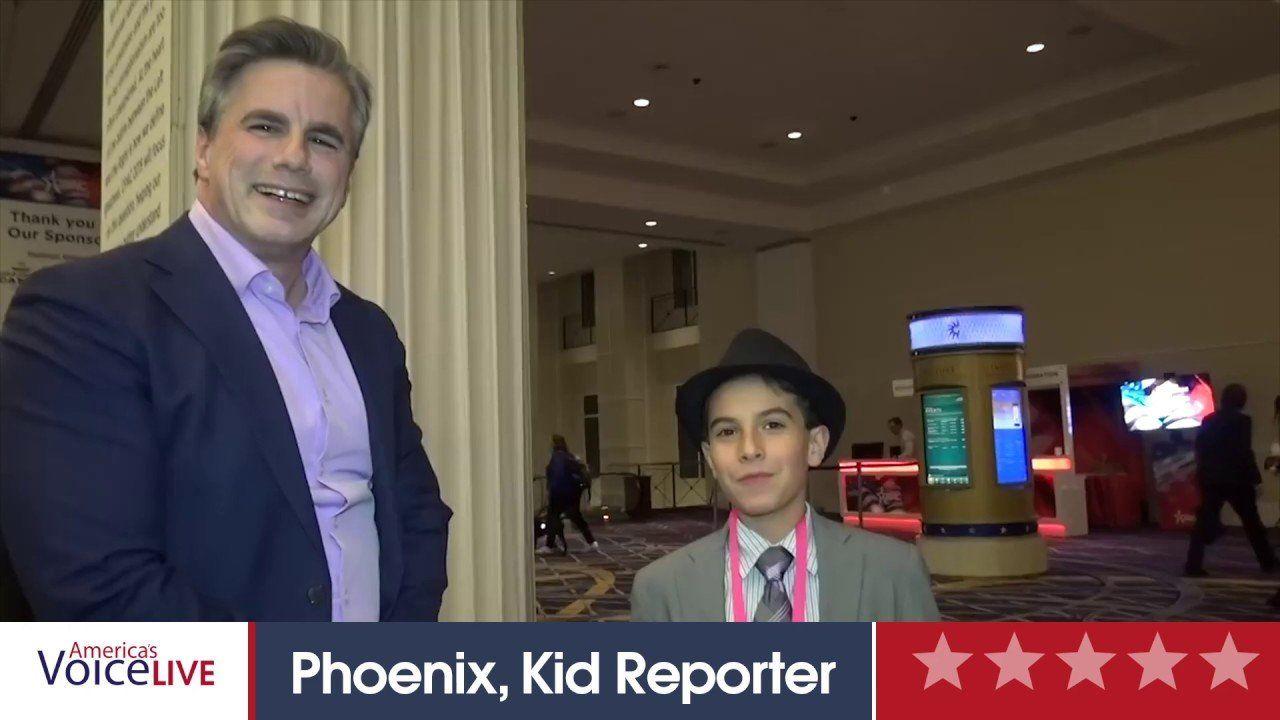 Phoenix, Kid Reporter interviews Tom Fitton