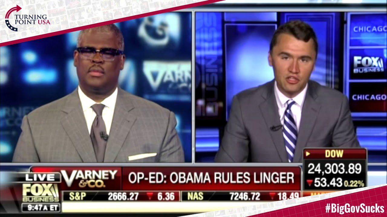 Charlie Kirk: Obama Era Regulations Are Hurting America