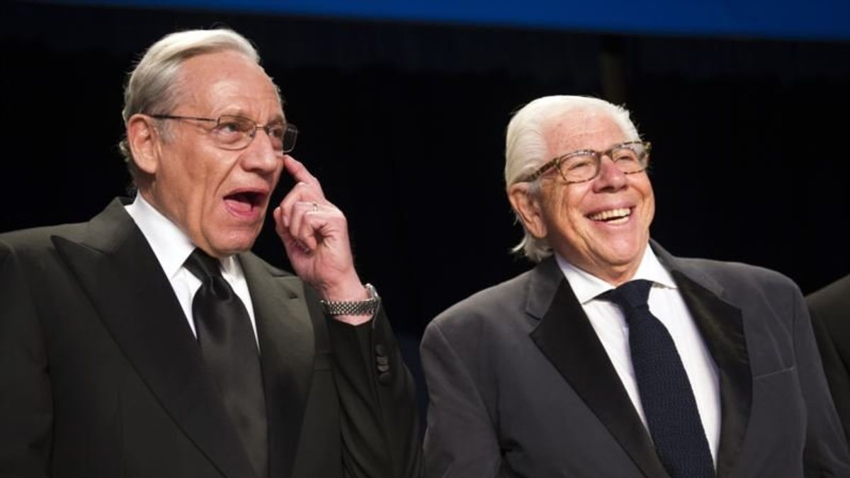 Woodward, Bernstein Still Atop the News, Long After Watergate