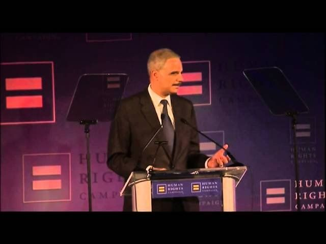 Holder: DOJ will apply gay marriage ruling in courtroom