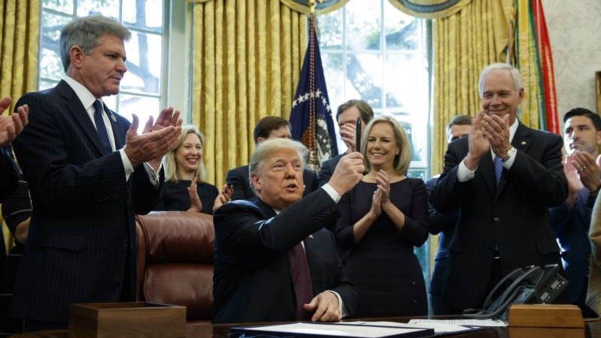 Trump Signs Bill to Elevate Cybersecurity Mission at DHS