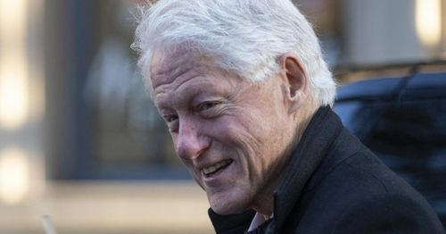 Former President Clinton release from hospital