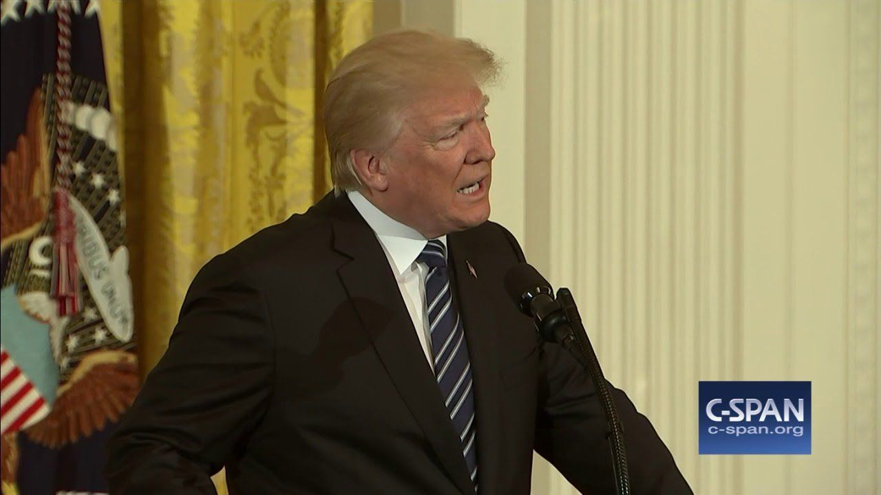 President Trump on shooting at Santa Fe High School in Texas (C-SPAN)