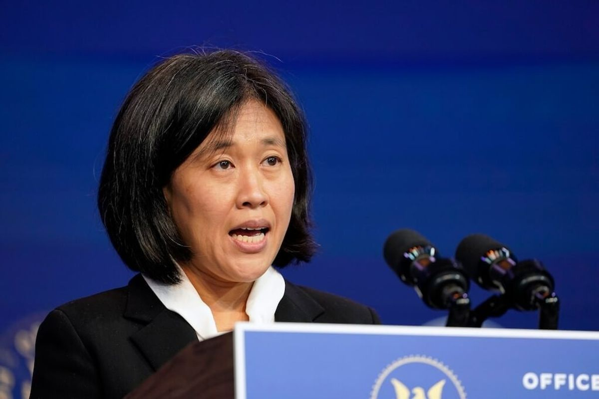 Biden's Trade Representative Expected to Be Assertive with China