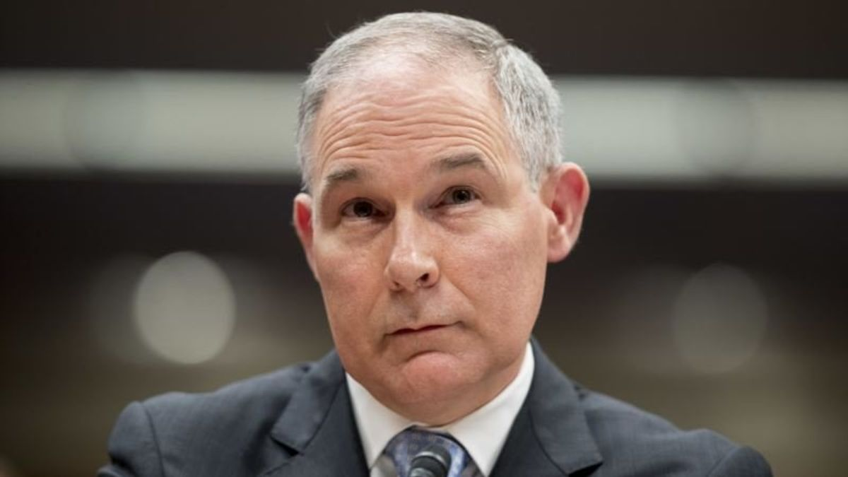 Condo to Chick-Fil-A, Some of the Allegations Against Pruitt