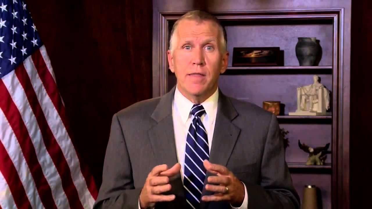 Thom Tillis pushes for new Senate majority