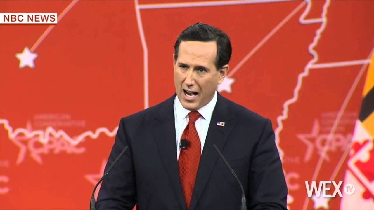 Santorum speaks out against Common Core at CPAC