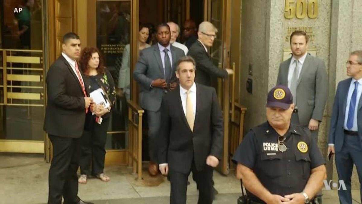 Cohen Guilty Pleas Encourage Calls for Trump Impeachrment