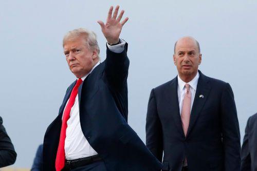 AP Source: 2nd US Official Heard Trump Call with Sondland