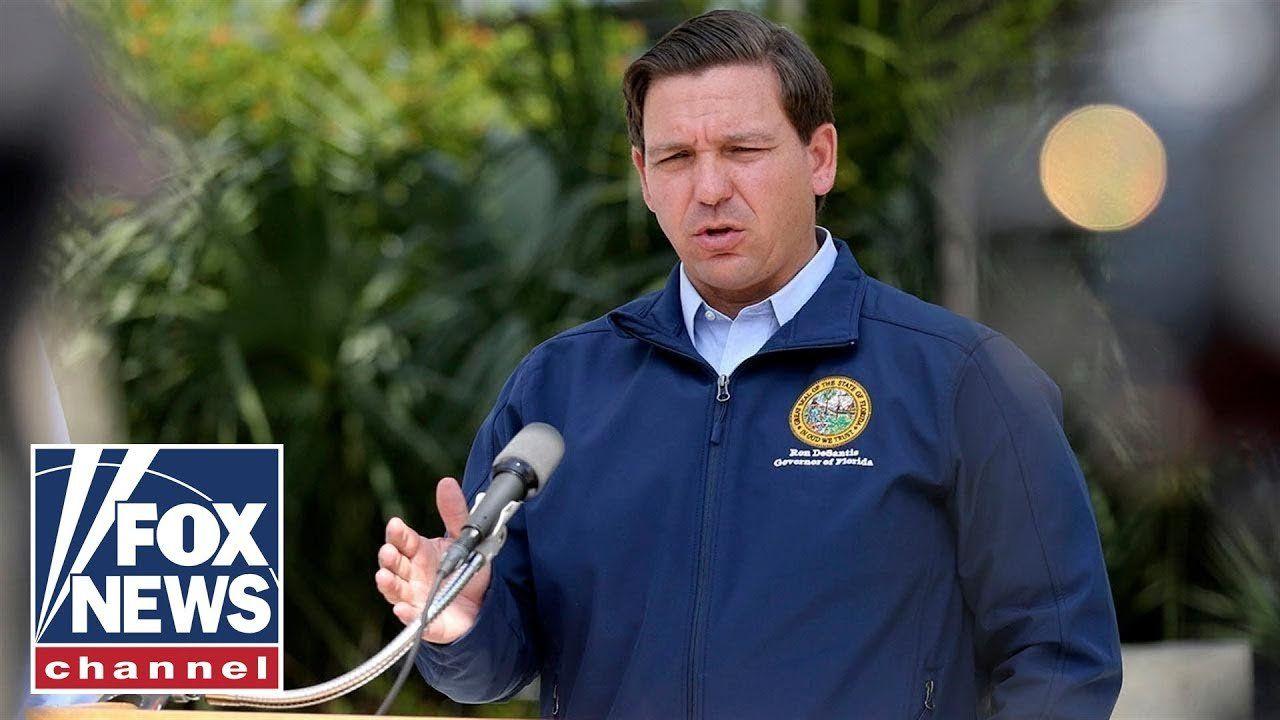 Live: Florida Gov. DeSantis holds a briefing on Hurricane Dorian