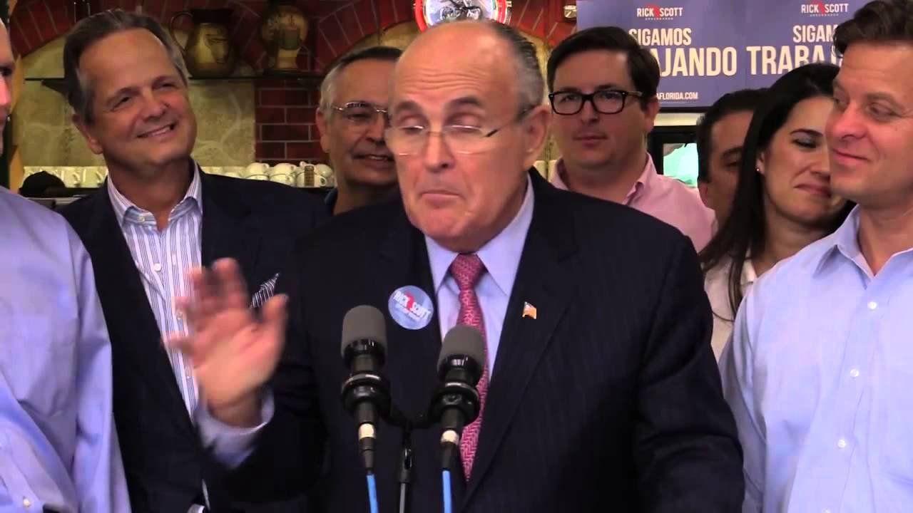Giuliani: No politician I disrespect more than Charlie Crist