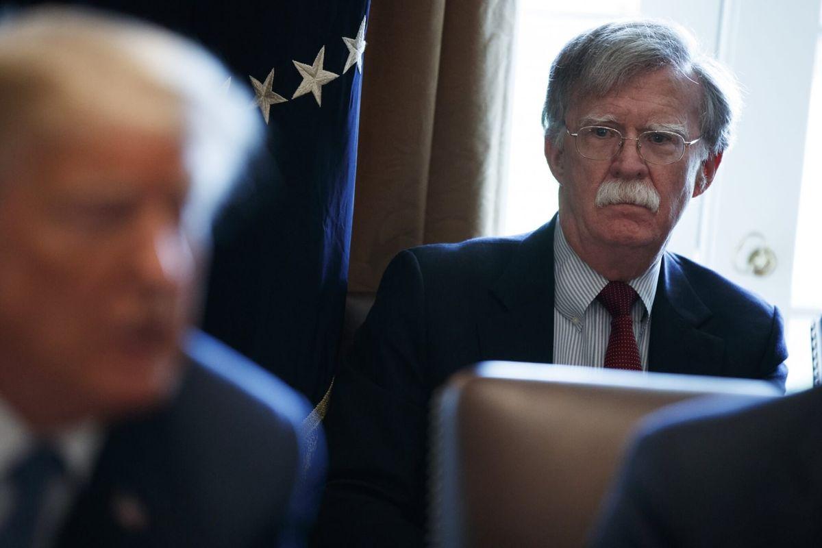 Bolton Book Says Trump Held Up Ukraine Aid for Biden Investigation