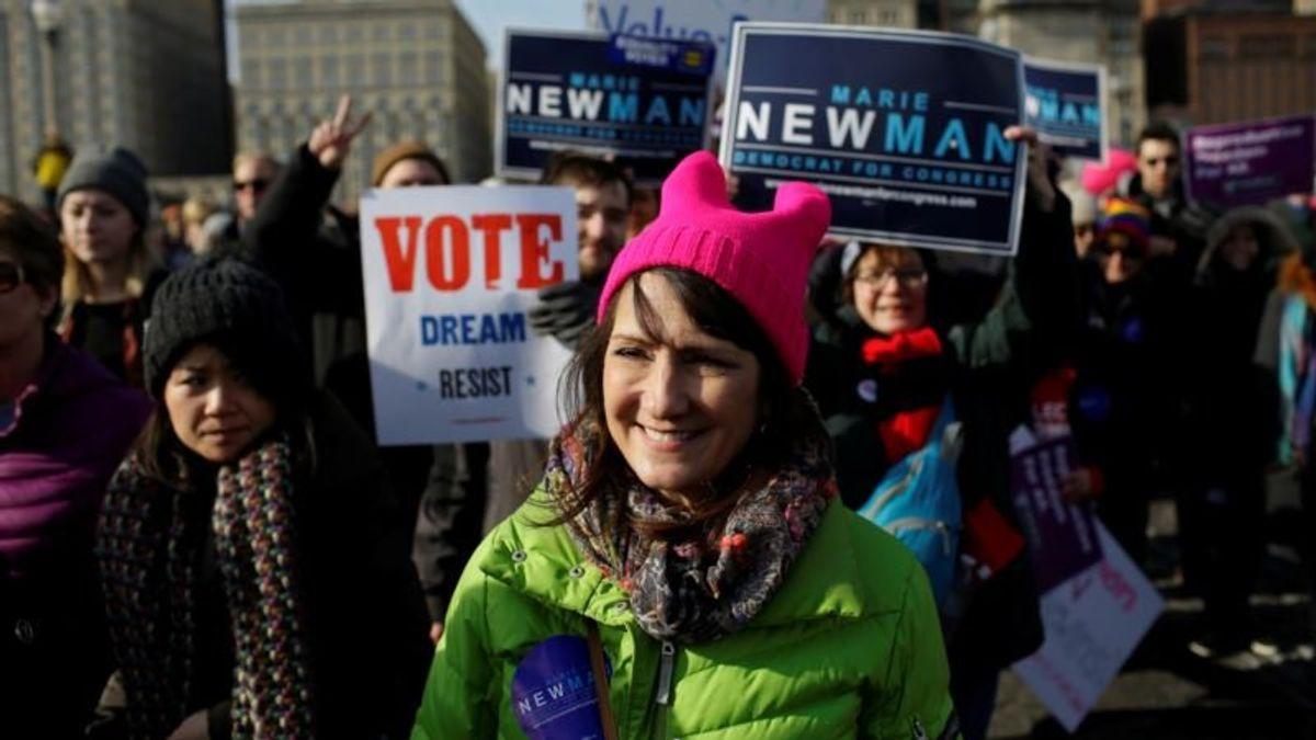 Record Number of Women Seeking Seats in US Congress