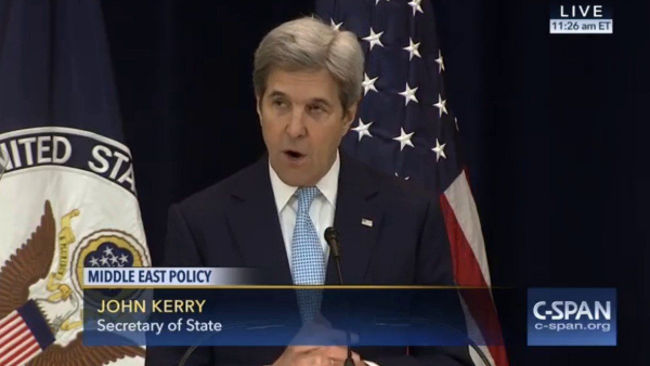Highlights From John Kerry's Speech On Israel And Palestinians