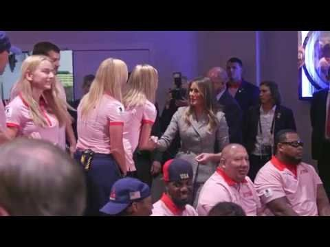 First Lady Melania Trump Attends the 2017 Invictus Games