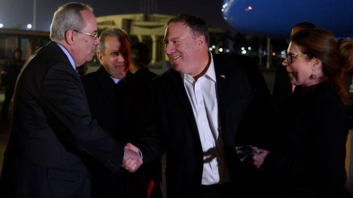 Iran, Gaza on Agenda as Pompeo Visits Egypt