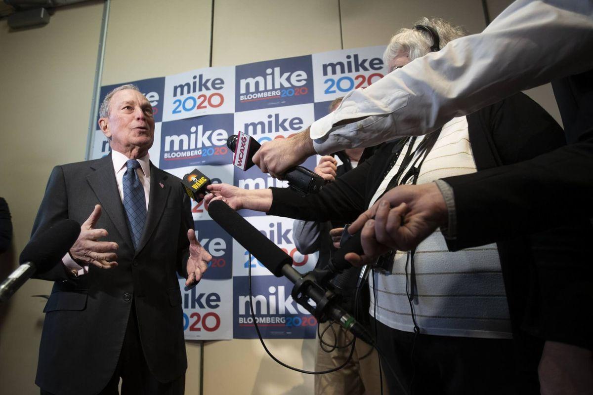 Trump Bashes Bloomberg; Dem's Campaign Calls Trump a 'Liar'