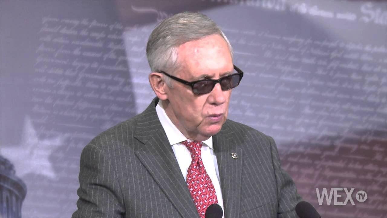 Senator Reid deflects on trade agreement plans