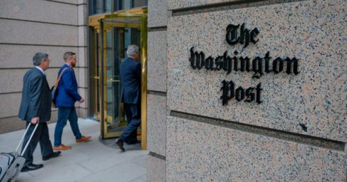 Trump Justice Department sought records of Washington Post reporters after Russia report