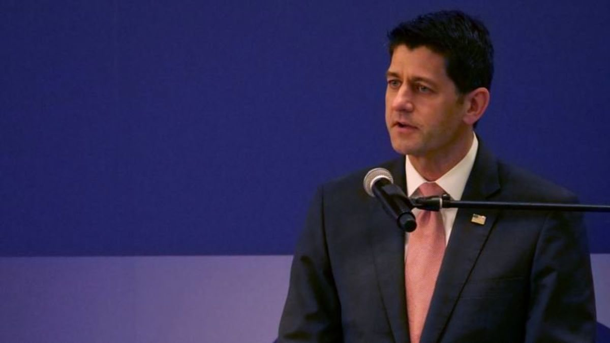 Paul Ryan Says Rest of World Should Be More Like Taiwan