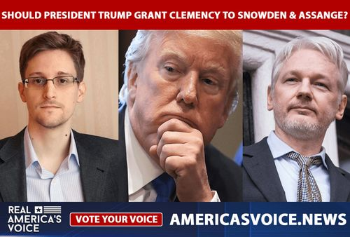 Should President Trump grant clemency to Edward Snowden and Julian Assange?