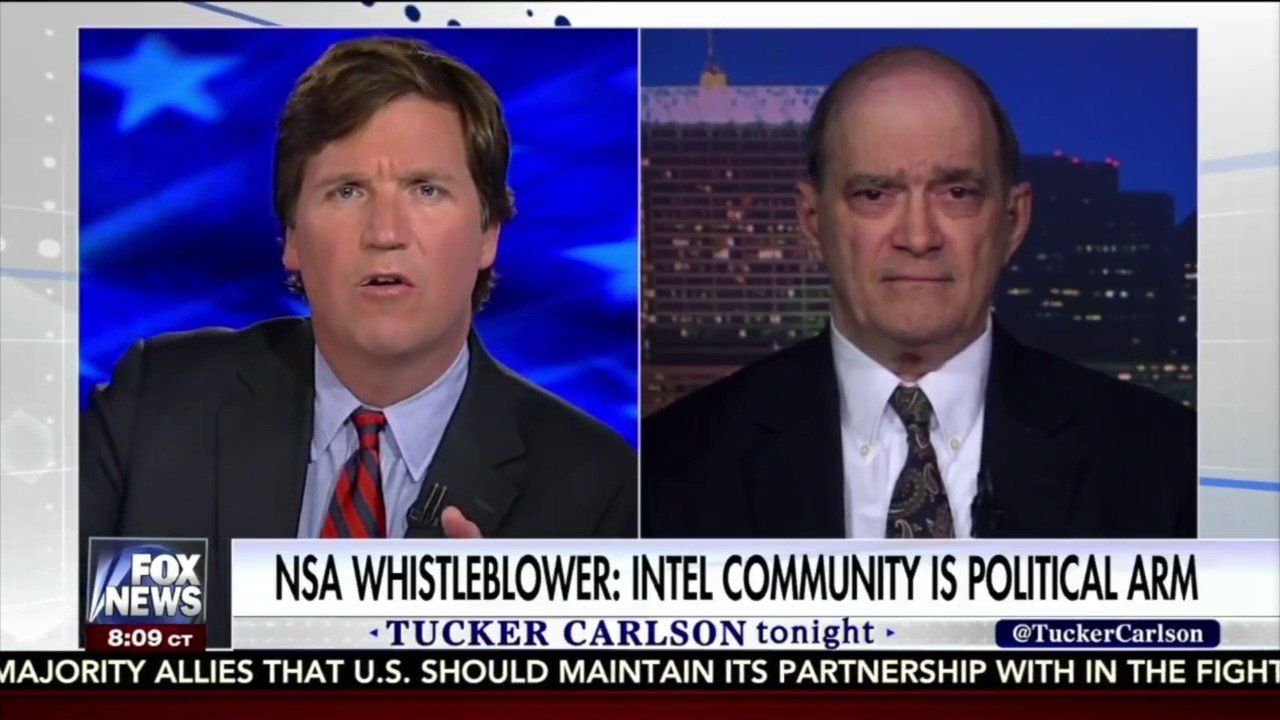 Tucker Carlson: NSA Whistleblower Says Trump Was Absolutely Spied On!