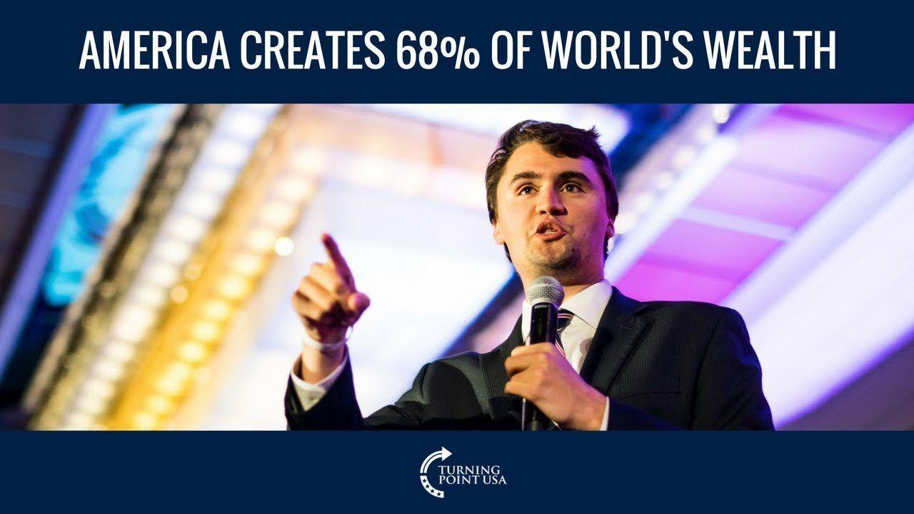 America Creates 68% Of The World's Wealth