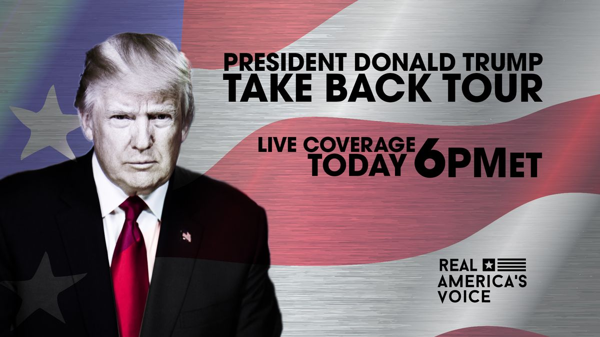 Donald Trump Re-Starts Record Breaking Rally Events in Ohio Today