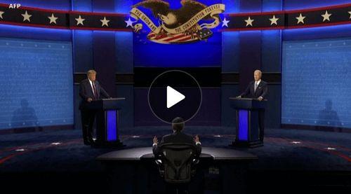 Trump, Biden Clash in Chaotic, Contentious Debate