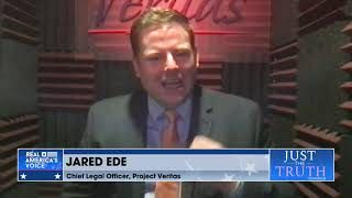 Jared Ede discusses Project Veritas suing the NYT for defamation on Just The Truth