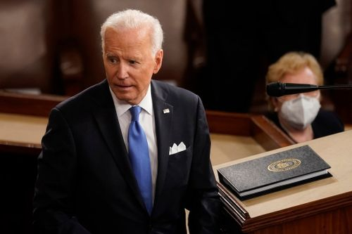 America 'Ready for Takeoff,' Biden Tells Congress