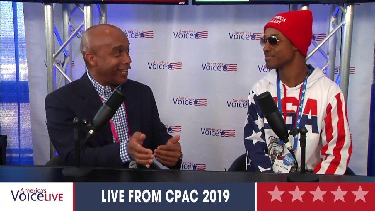 Kevin Jackson Interviews Joel Patrick CPAC 2019