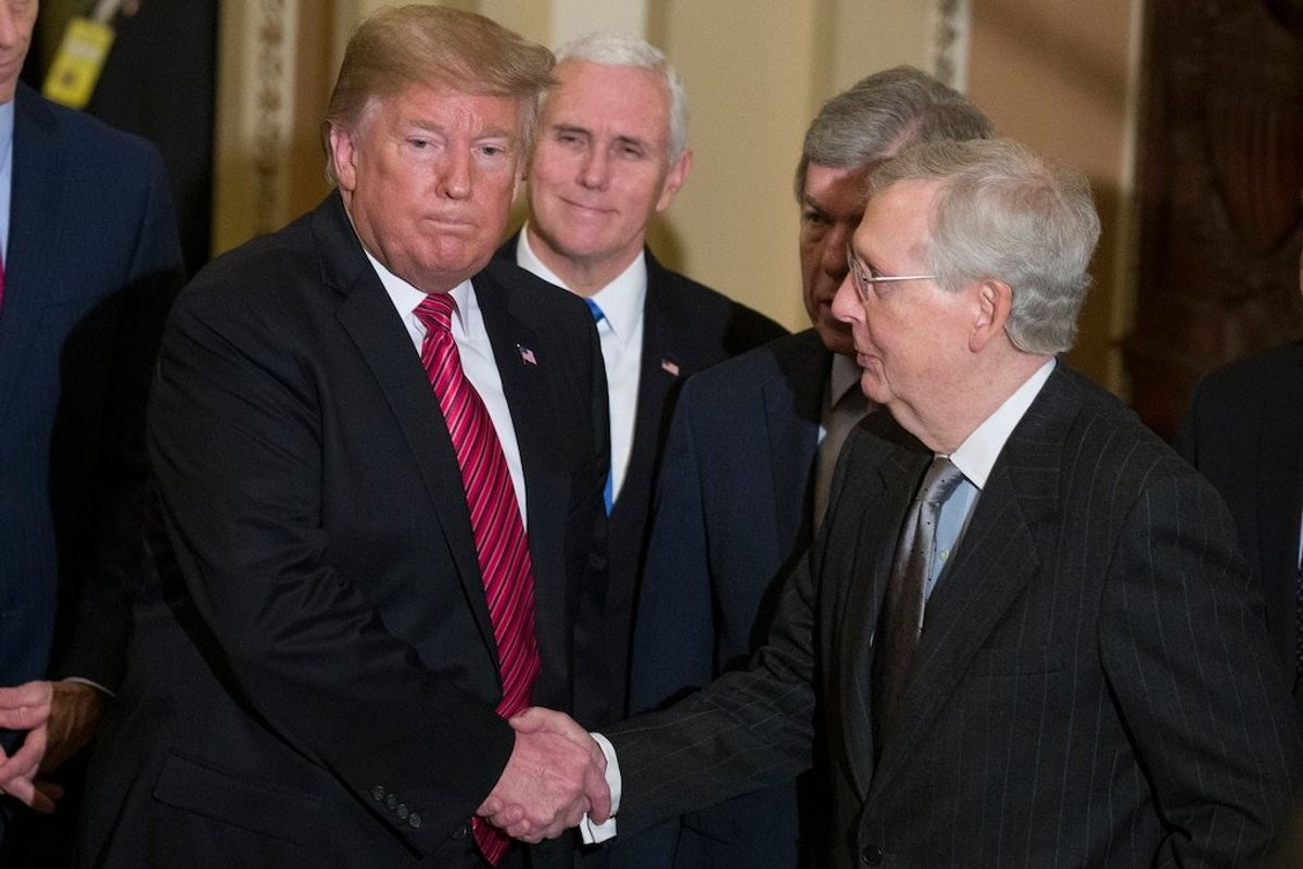 Once Political Allies, Trump, Senate Republican Leader Now Sparring Sharply