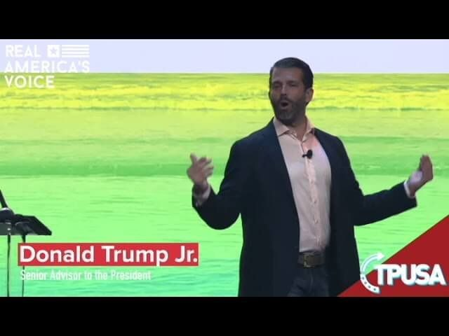 Donald Trump Jr – It would be so much easier to be a democrat