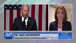 Dr. Nan Hayworth comments on President Biden's speech in Tulsa OK