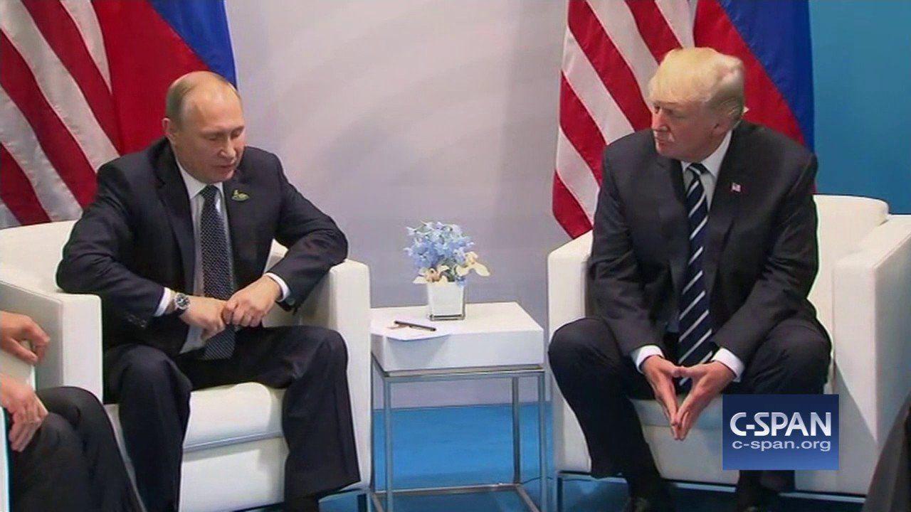 President Trump and at G-20 Summit (C-SPAN)