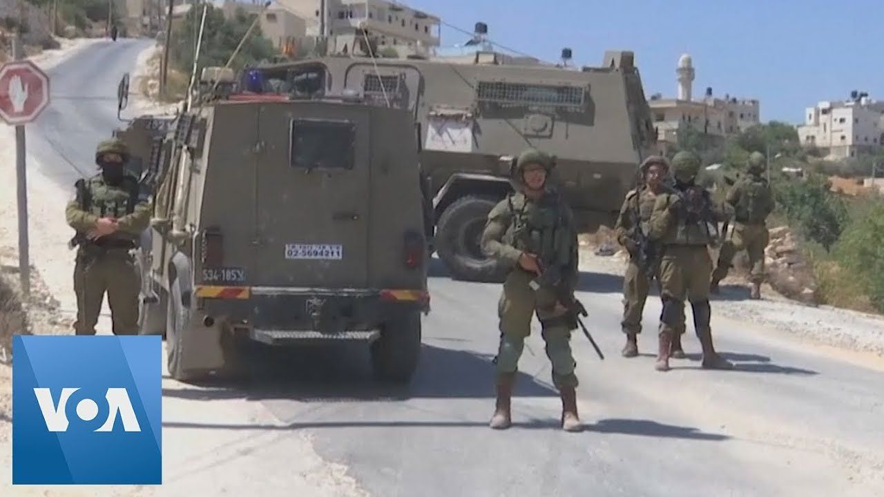 Israeli Troops Search West Bank After Killing of Soldier