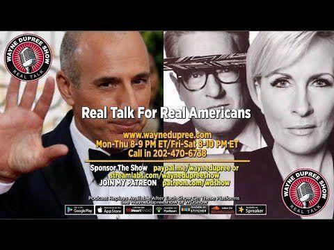 🔥 WDShow 11-29 Matt Lauer Sexual Assault Allegations Reach 3; Scarborough/Lori Klausutis