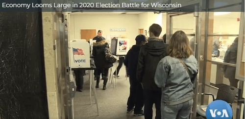 Economy Looms Large in 2020 Election Battle for Wisconsin