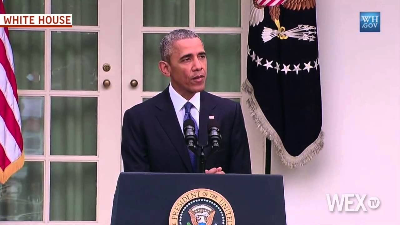 WATCH: Obama's full statement on same-sex marriage ruling
