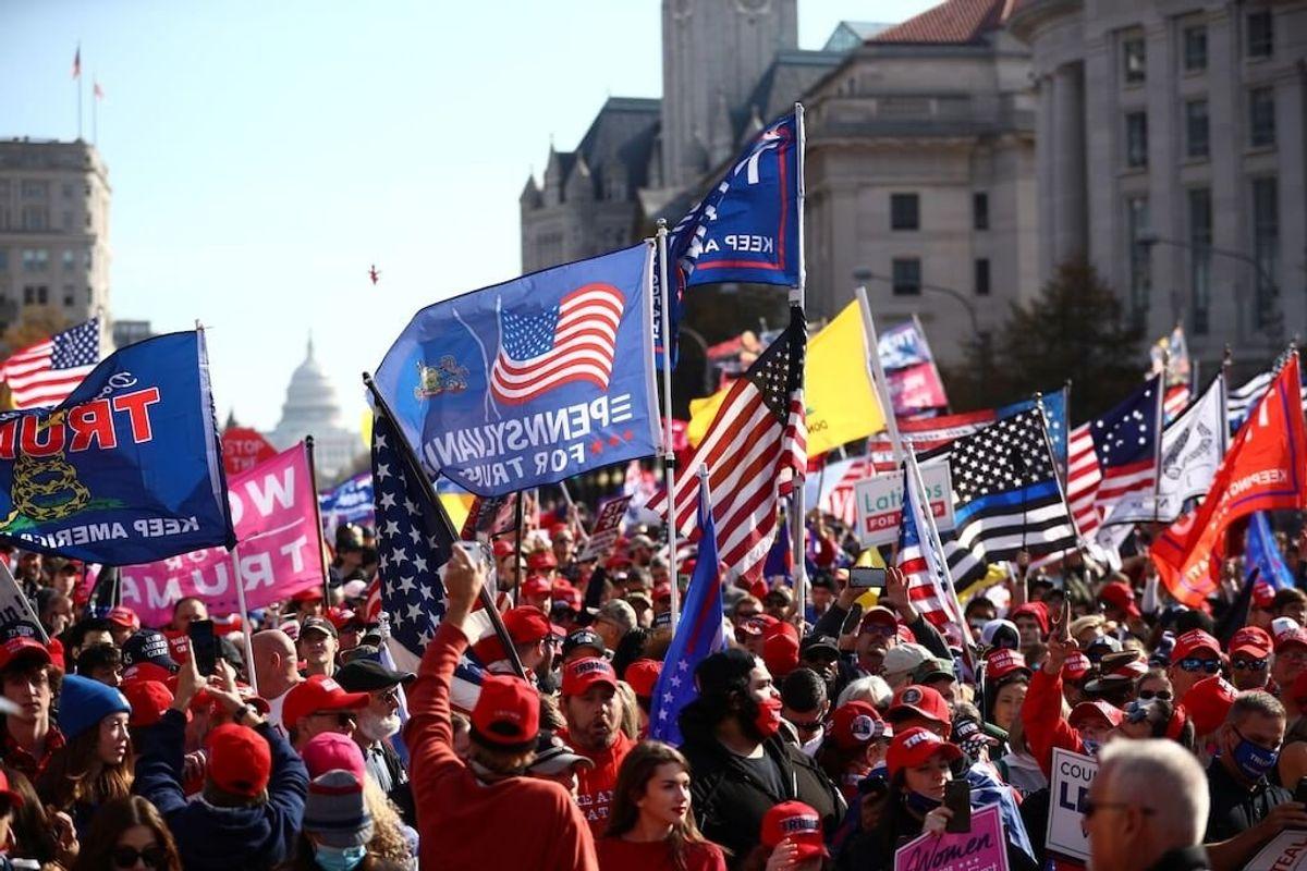 Pro-Trump Protesters Rally in Washington