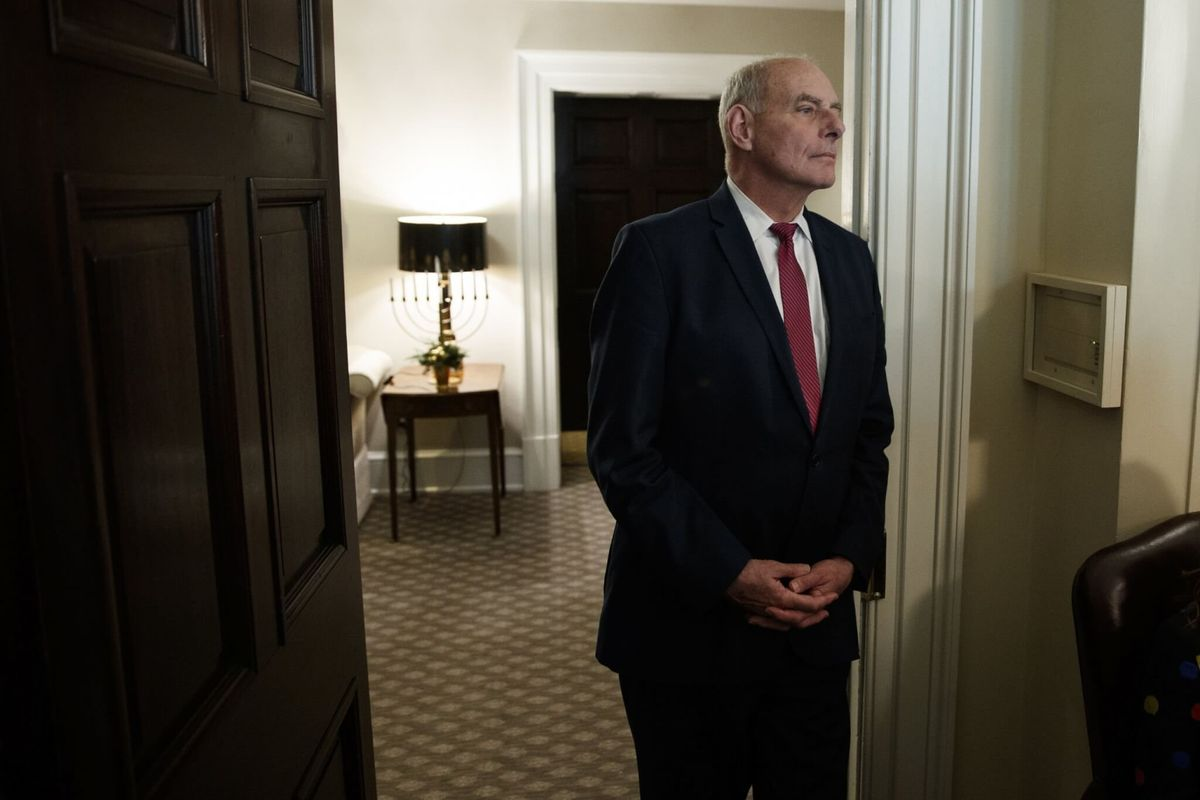Trump Attacks Former White House Chief of Staff Kelly