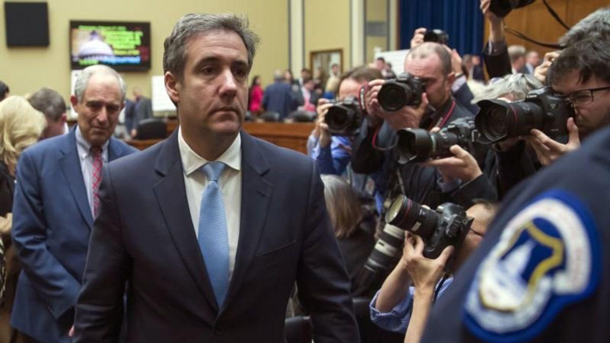 Cohen Sues Trump Organization for Unpaid Legal Fees