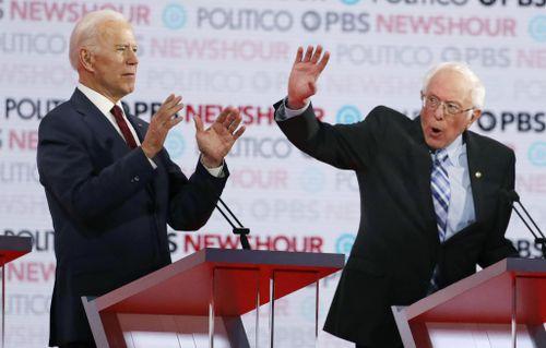 Biden, Sanders Lead Field in New Poll Ahead of Monday's Iowa Caucuses