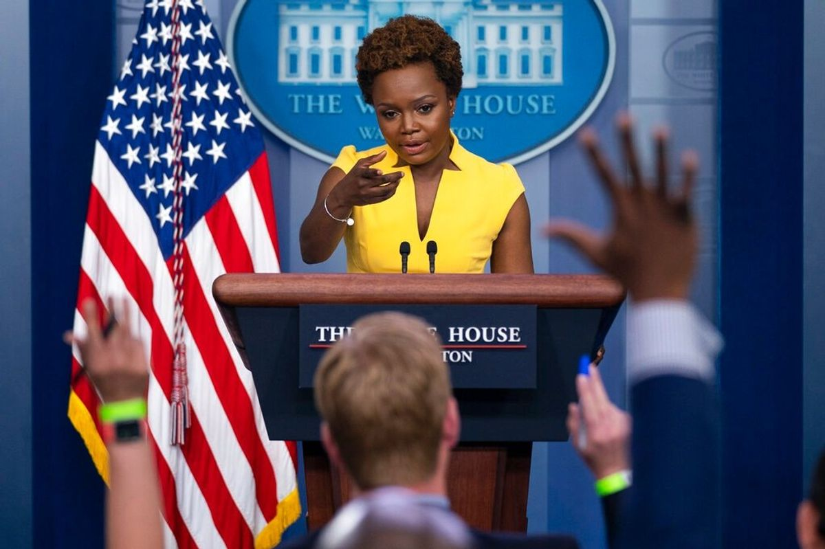 First Openly Gay Black Woman Delivers White House Briefing