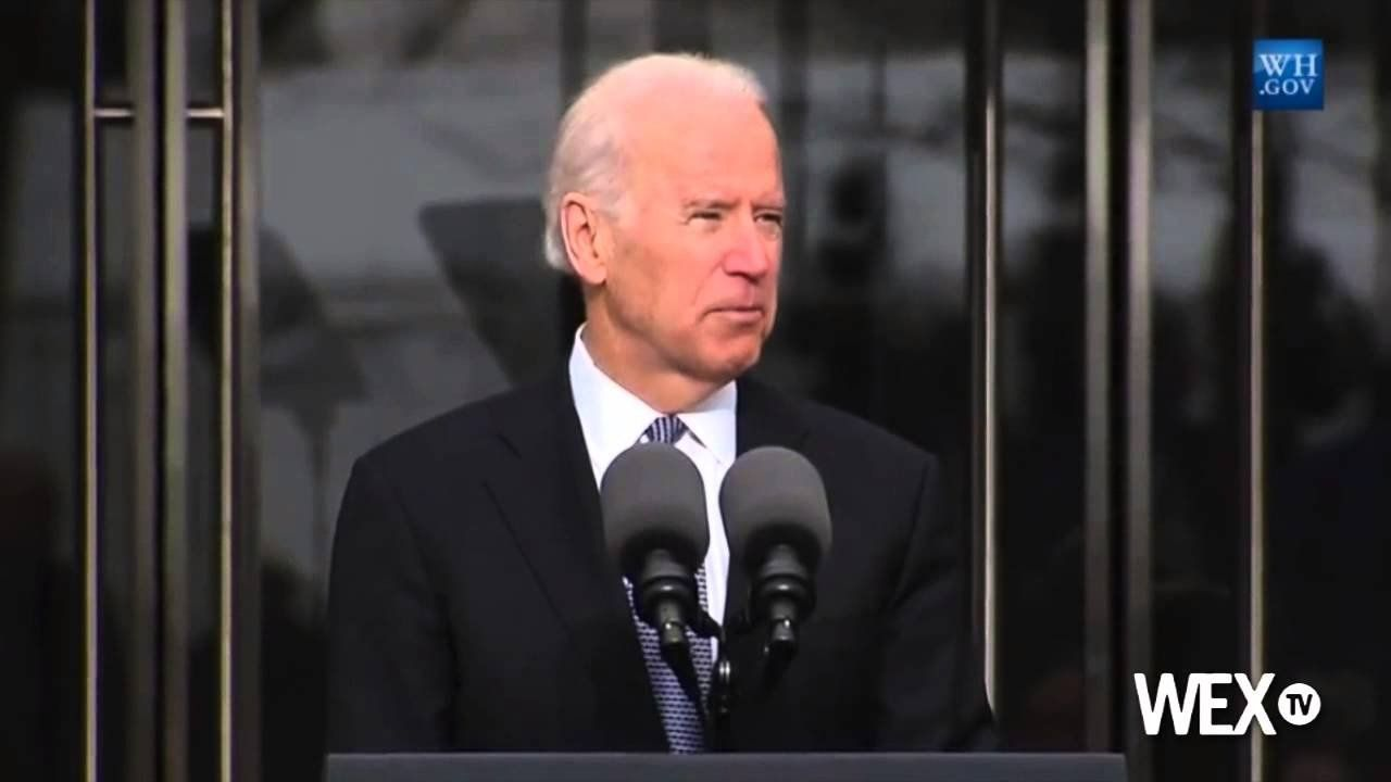 Joe Biden honors Ted Kennedy at institute opening