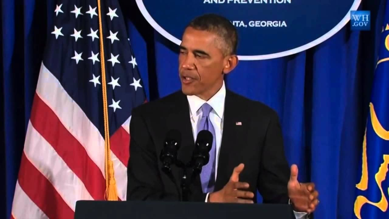 Obama outlines a plan to combat Ebola