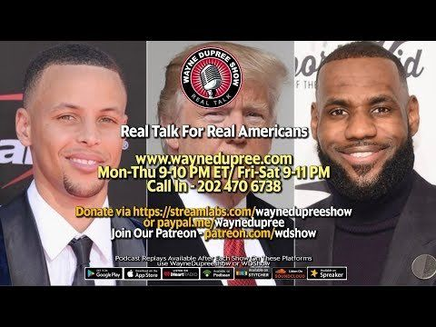 🔥 LIVE! WDShow 9-23 NBA Players Attack Trump, NAACP Blocks Me, OPEN PHONES 202 470 6738