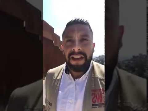 #OscarElBlue with #PoliticalAvenger at the Border Tijuana Mexico
