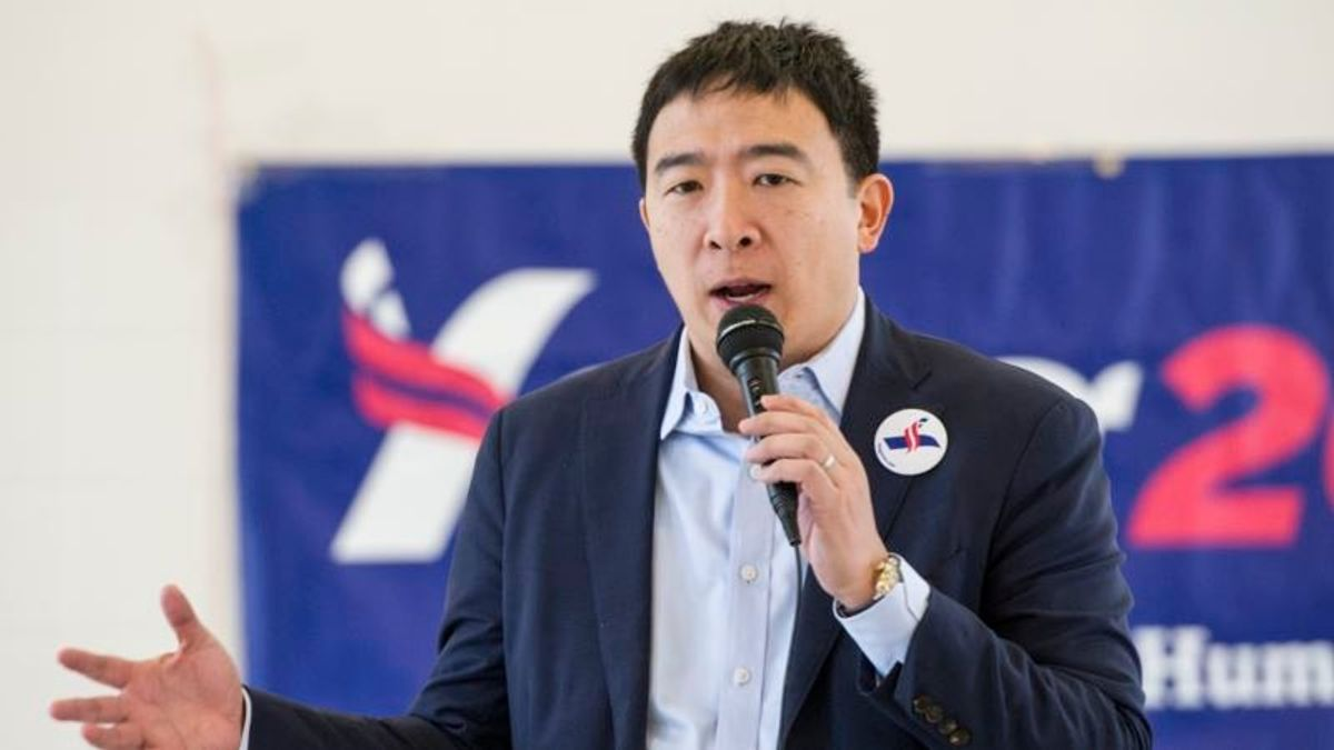Presidential Candidate Yang's 'Freedom Dividend' Stirring Interest